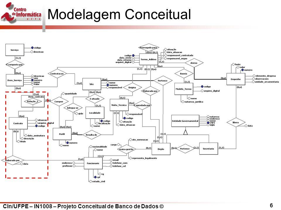 Modelagem Conceitual 6