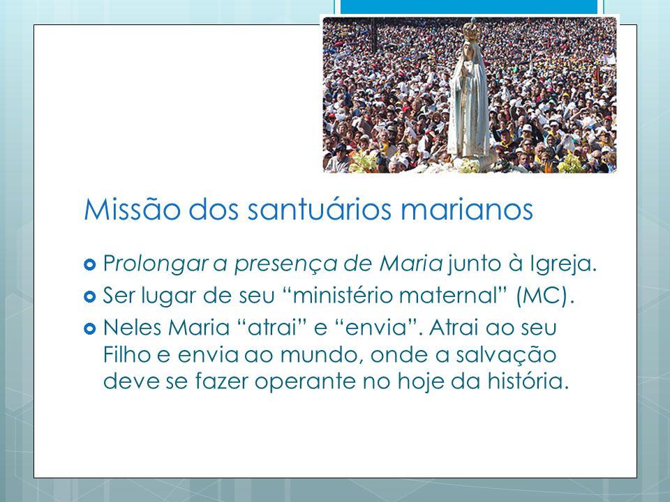 Missão dos santuários marianos