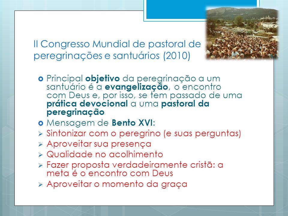 II Congresso Mundial de pastoral de peregrinações e santuários (2010)