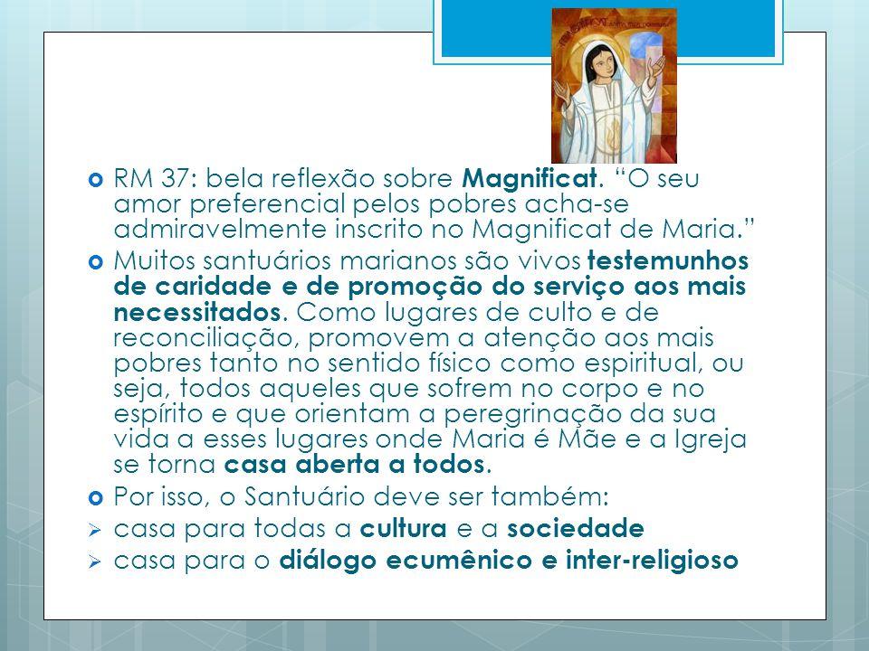 RM 37: bela reflexão sobre Magnificat