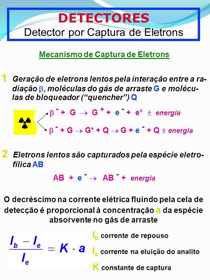 Detector por Captura de Eletrons