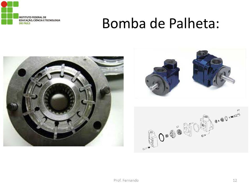 Bomba de Palheta: Prof. Fernando