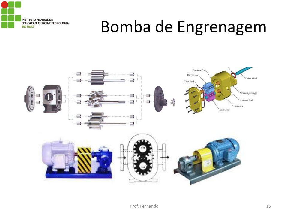 Bomba de Engrenagem Prof. Fernando