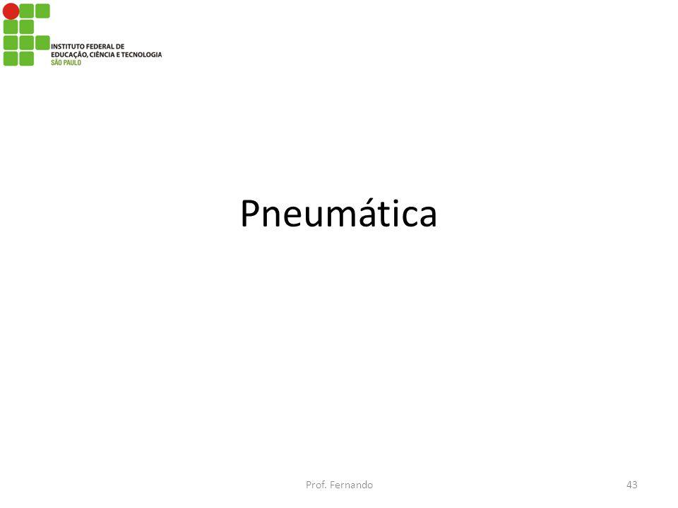 Pneumática Prof. Fernando