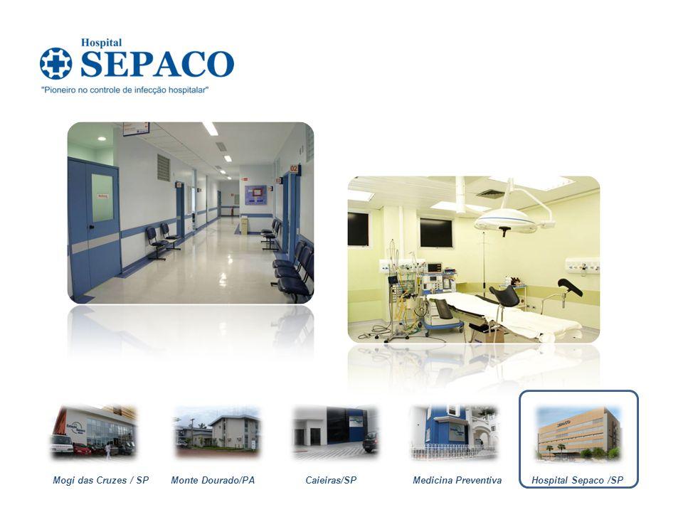 Mogi das Cruzes / SP Monte Dourado/PA Caieiras/SP Medicina Preventiva Hospital Sepaco /SP