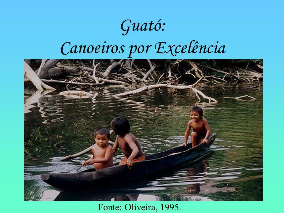 Guató: Canoeiros por Excelência
