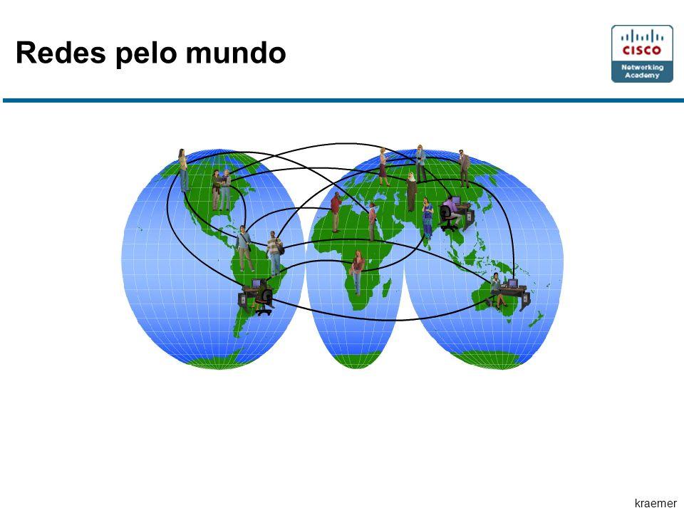 Redes pelo mundo