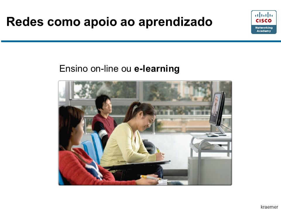 Redes como apoio ao aprendizado