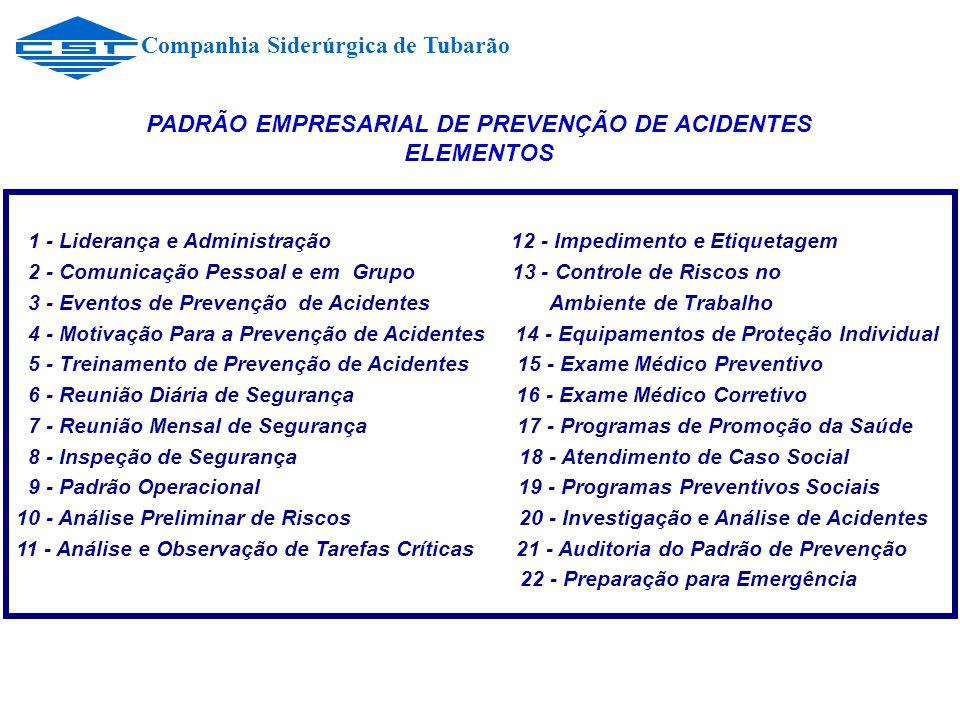 PADRÃO EMPRESARIAL DE PREVENÇÃO DE ACIDENTES