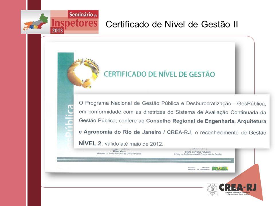 Certificado de Nível de Gestão II