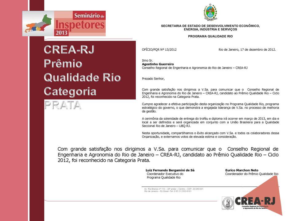 CREA-RJ Prêmio Qualidade Rio Categoria PRATA