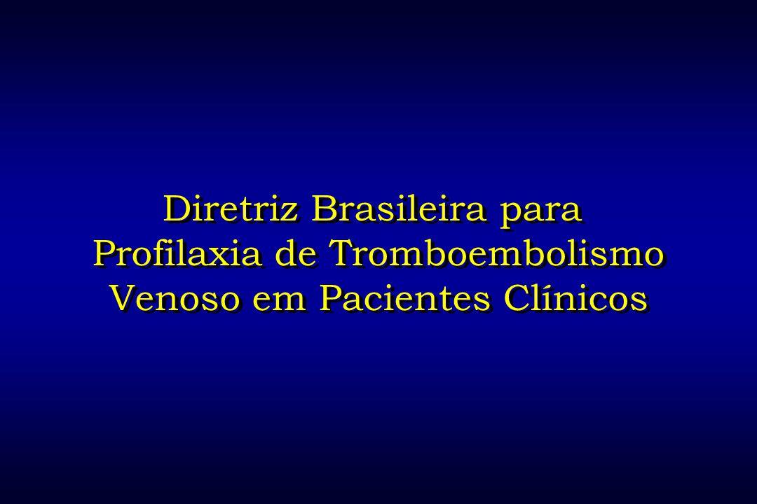 Diretriz Brasileira para Profilaxia de Tromboembolismo