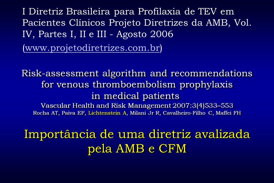 Importância de uma diretriz avalizada pela AMB e CFM