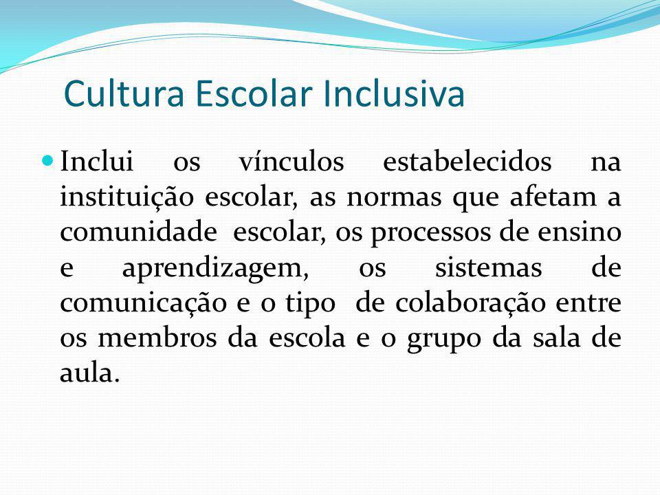 Cultura Escolar Inclusiva