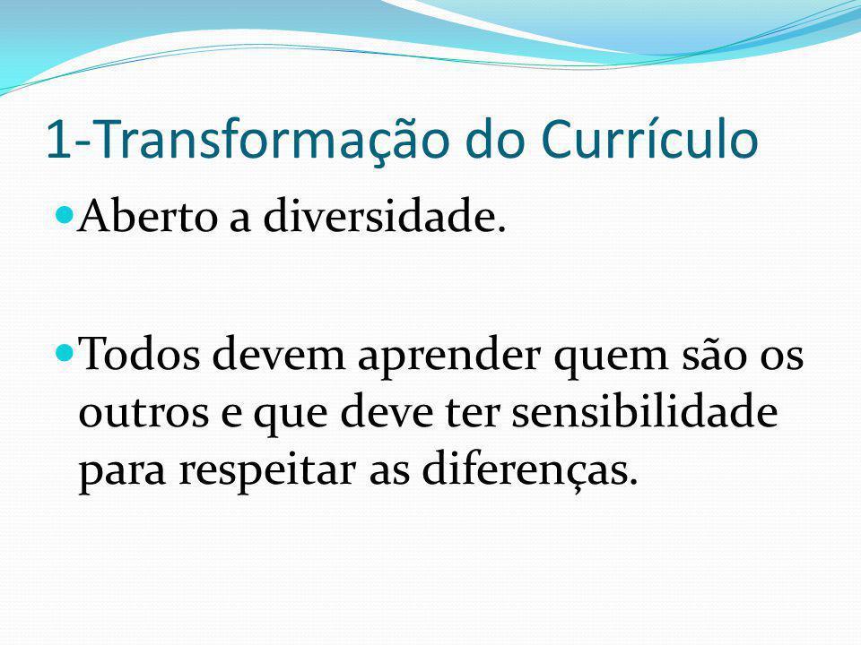 1-Transformação do Currículo