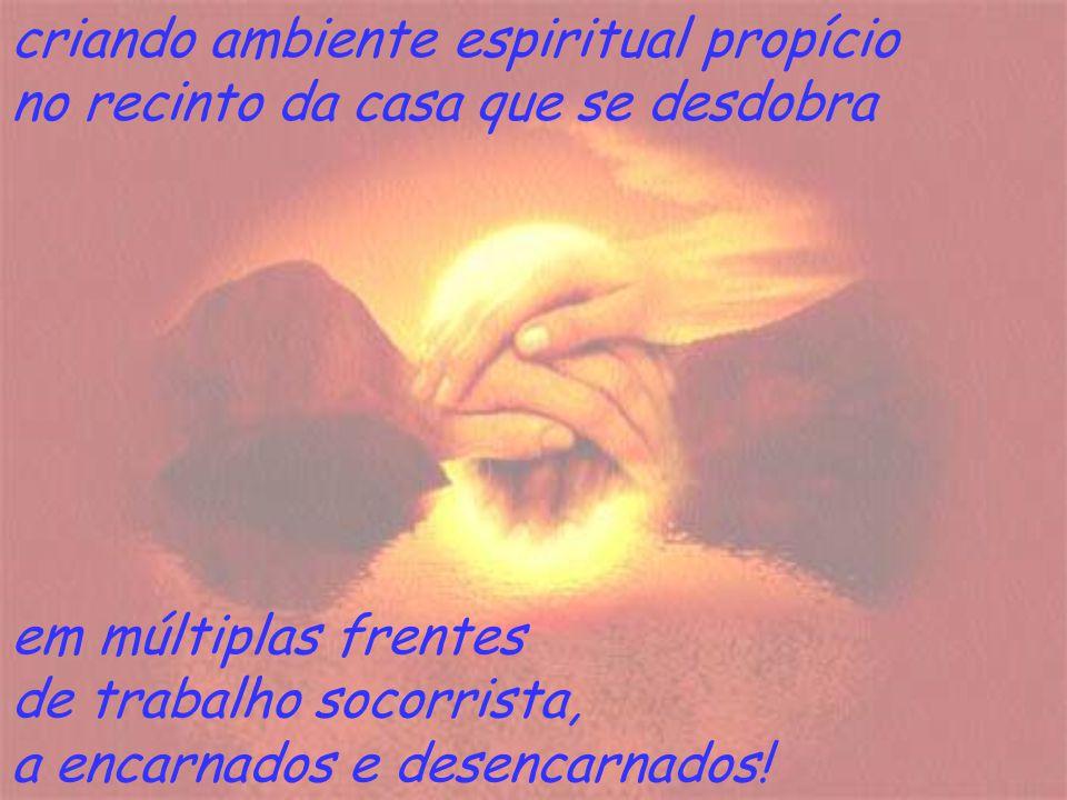 criando ambiente espiritual propício
