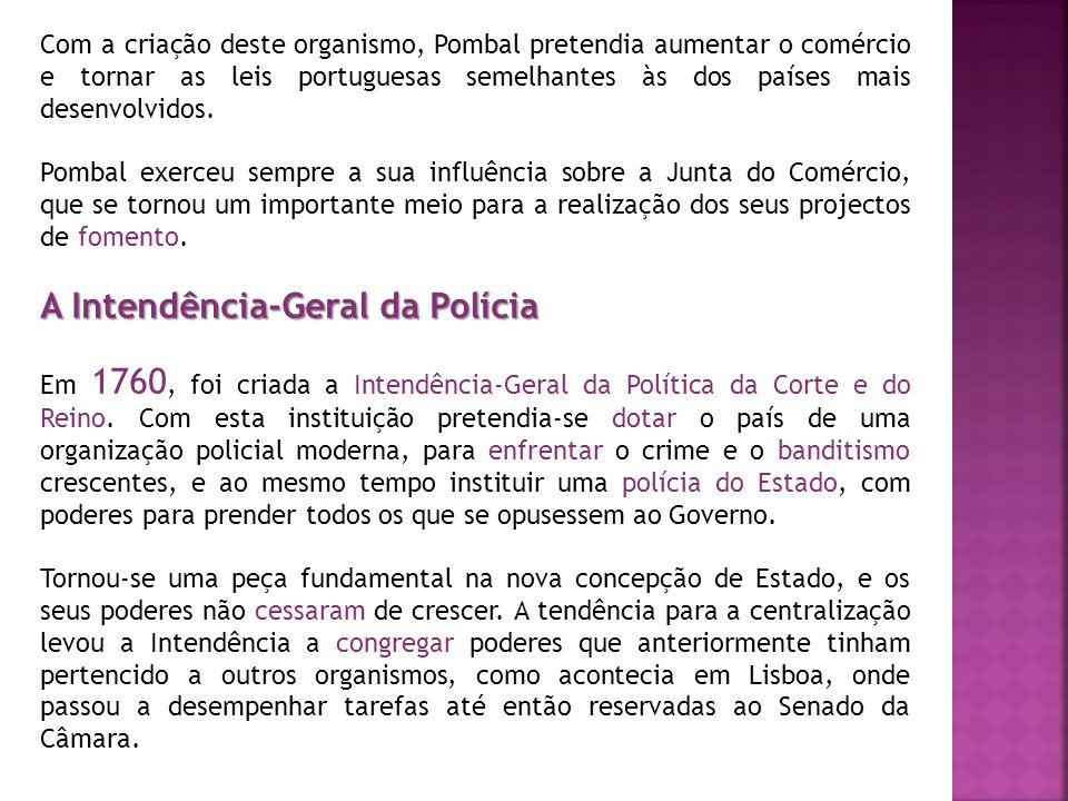 A Intendência-Geral da Polícia