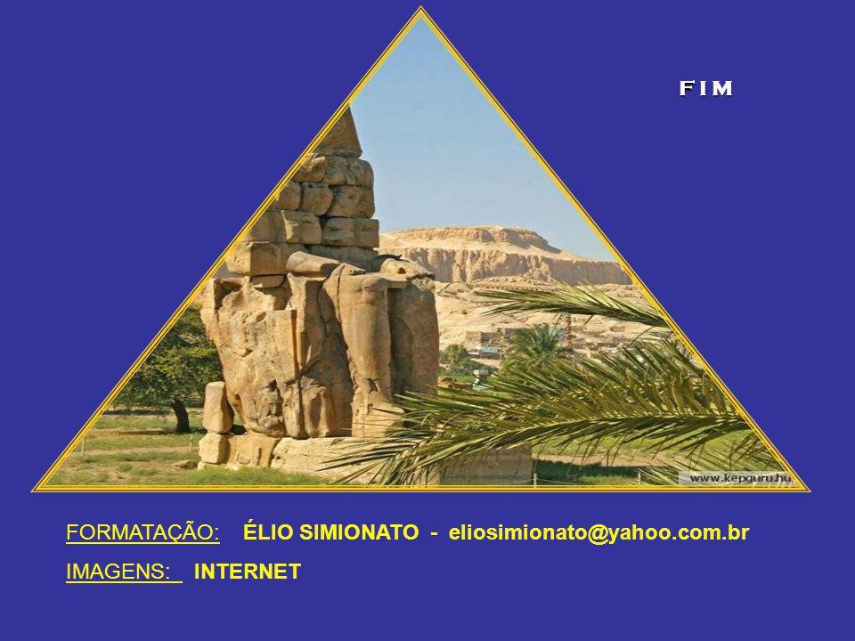 F I M FORMATAÇÃO: ÉLIO SIMIONATO - eliosimionato@yahoo.com.br IMAGENS: INTERNET