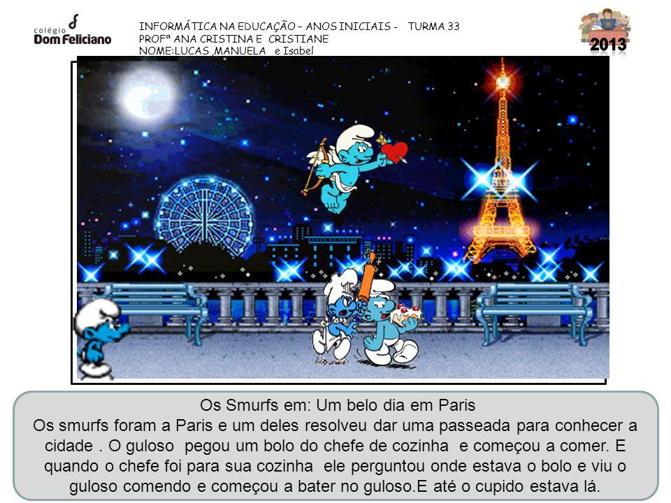 Os Smurfs em: Um belo dia em Paris