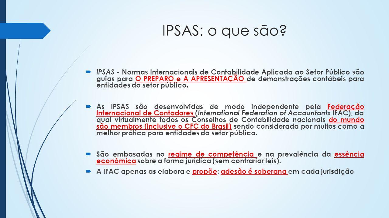 IPSAS: o que são