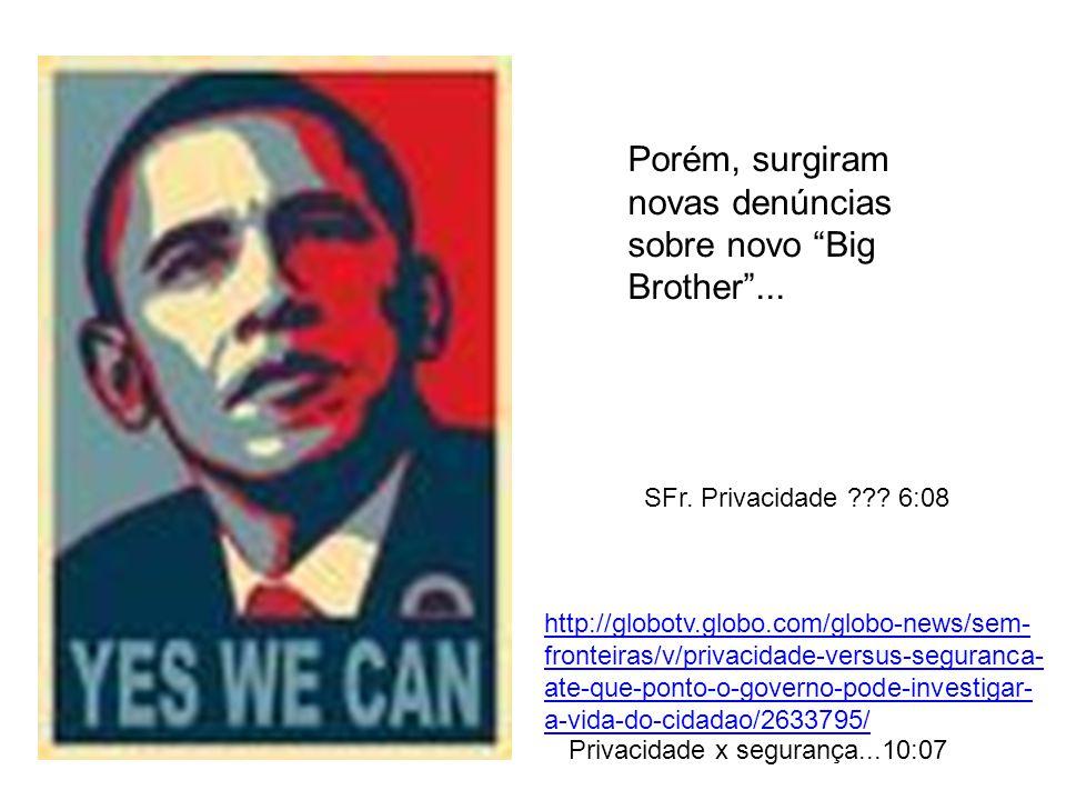 Porém, surgiram novas denúncias sobre novo Big Brother ...