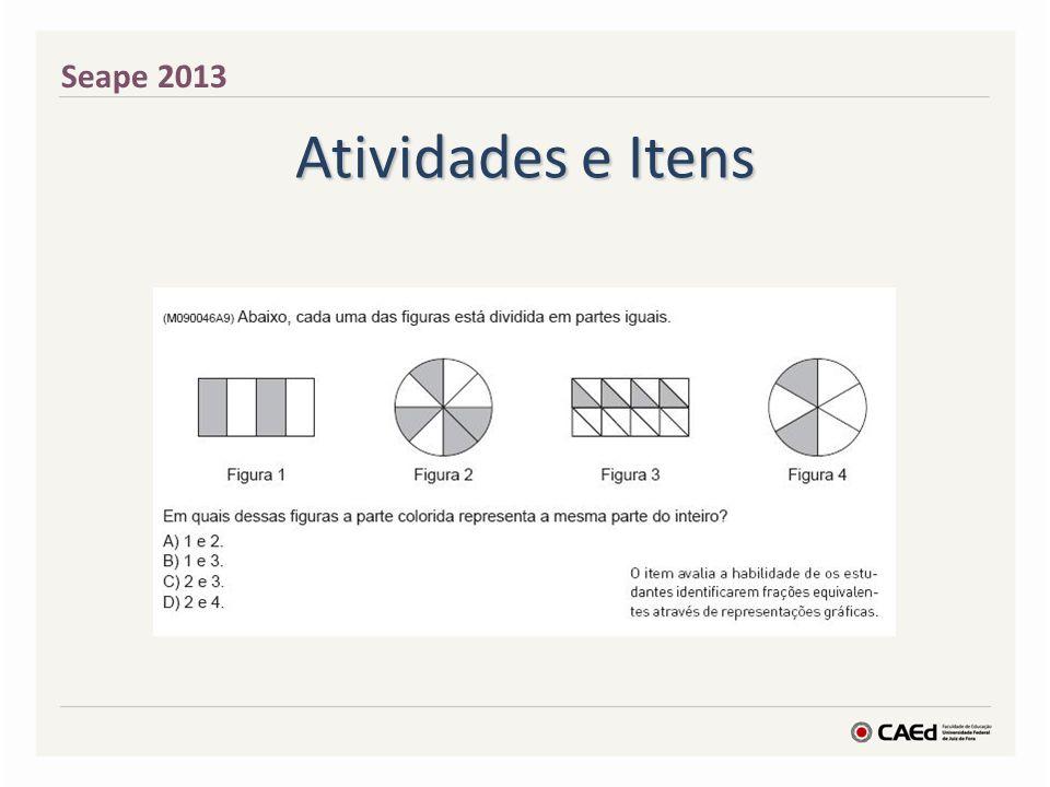 Seape 2013 Atividades e Itens