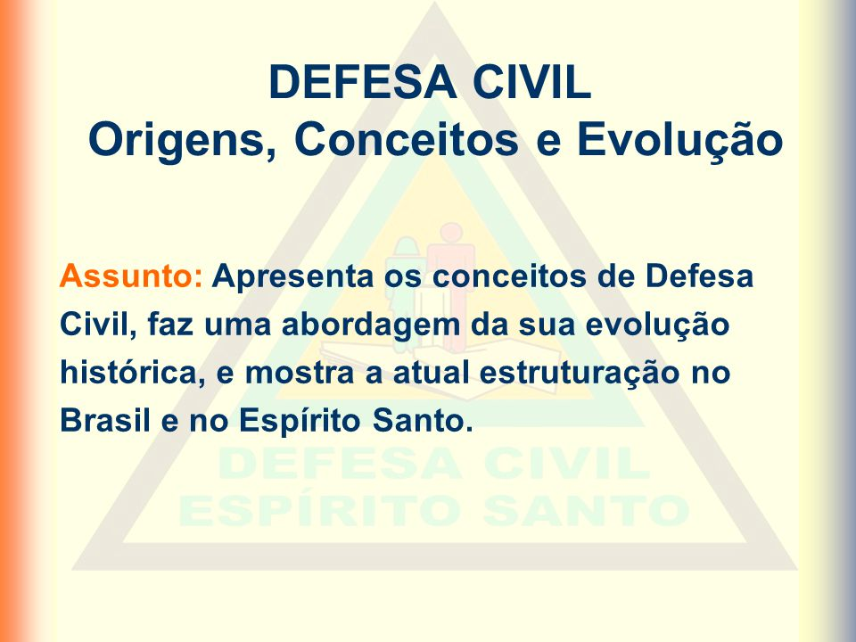 Origens, Conceitos e Evolução