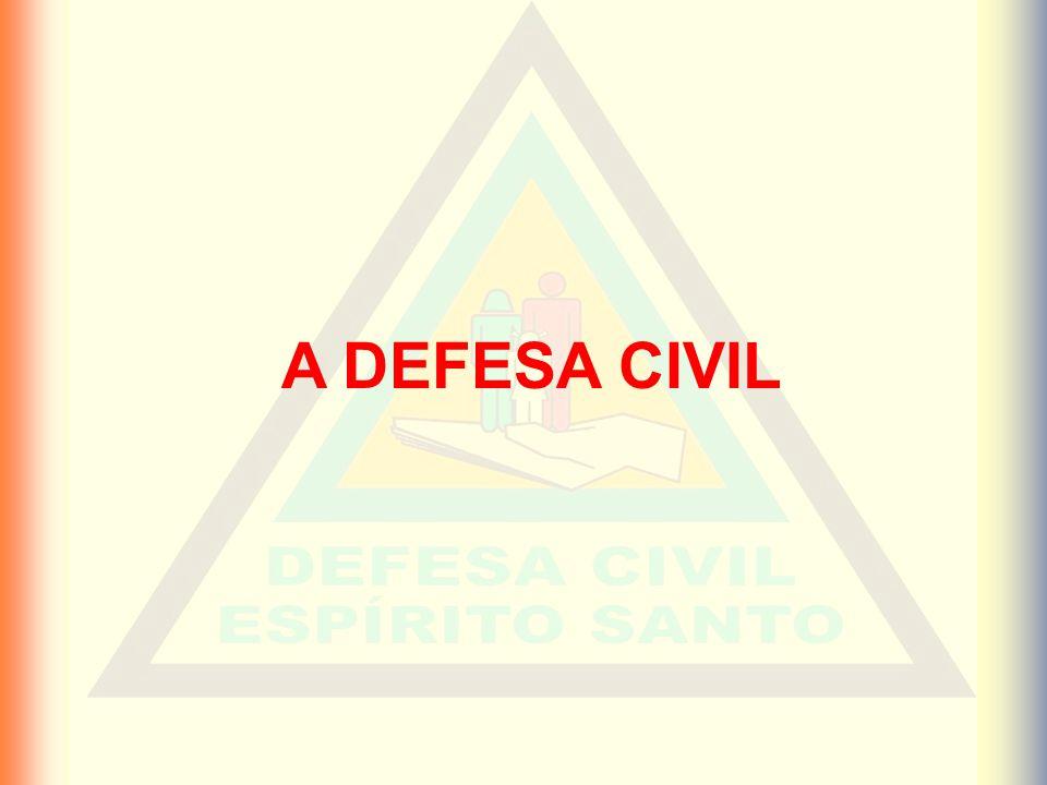 A DEFESA CIVIL