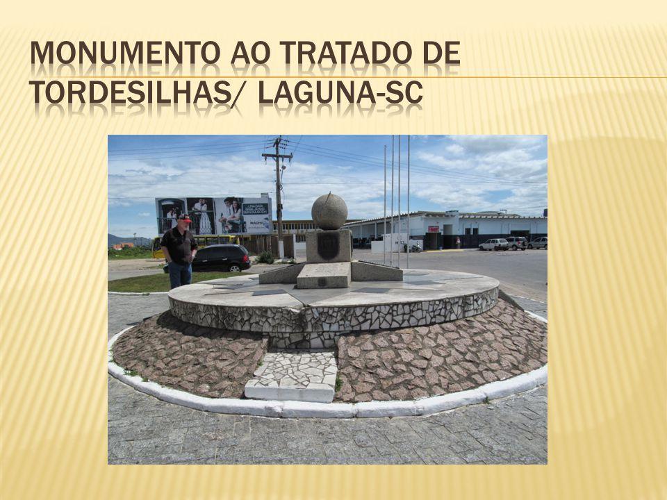 Monumento ao Tratado de Tordesilhas/ Laguna-SC