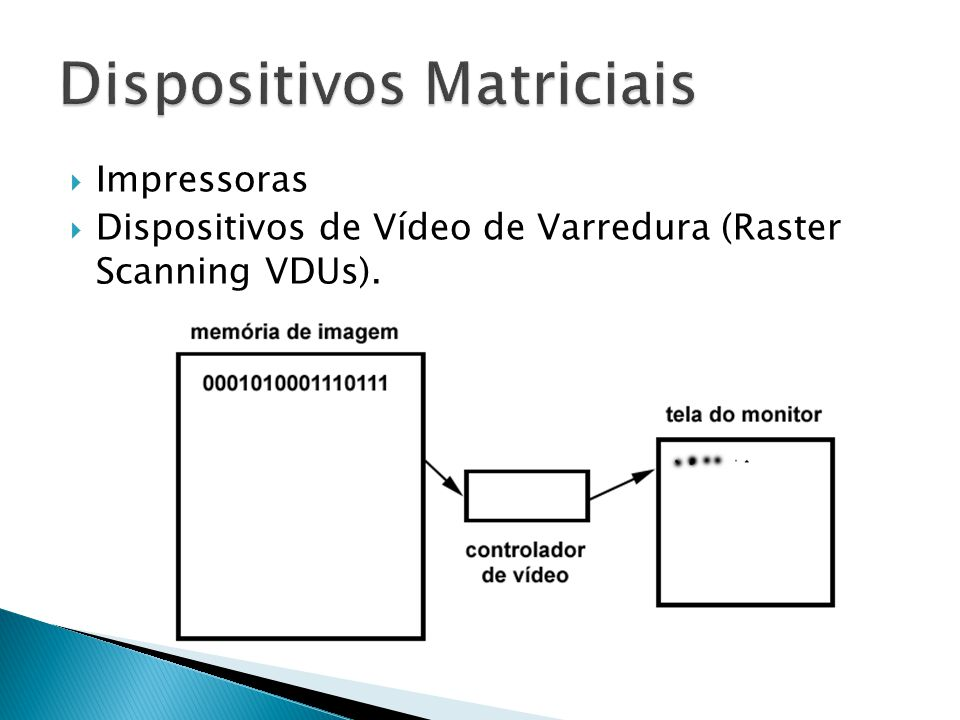 Dispositivos Matriciais