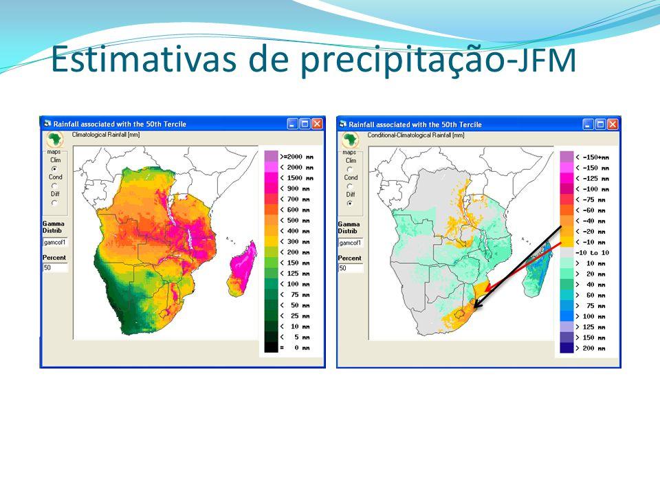 Estimativas de precipitação-JFM