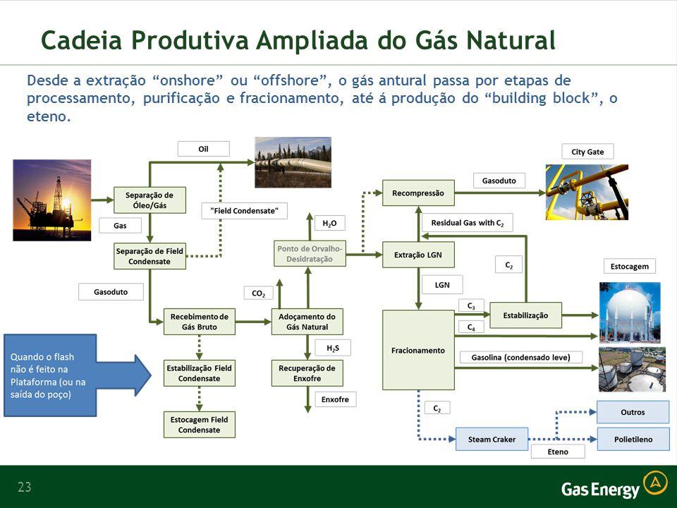 Cadeia Produtiva Ampliada do Gás Natural