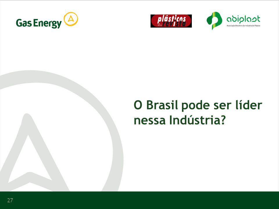 O Brasil pode ser líder nessa Indústria