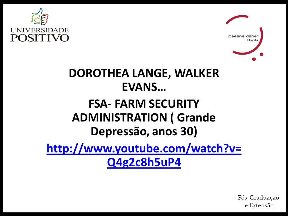 DOROTHEA LANGE, WALKER EVANS…