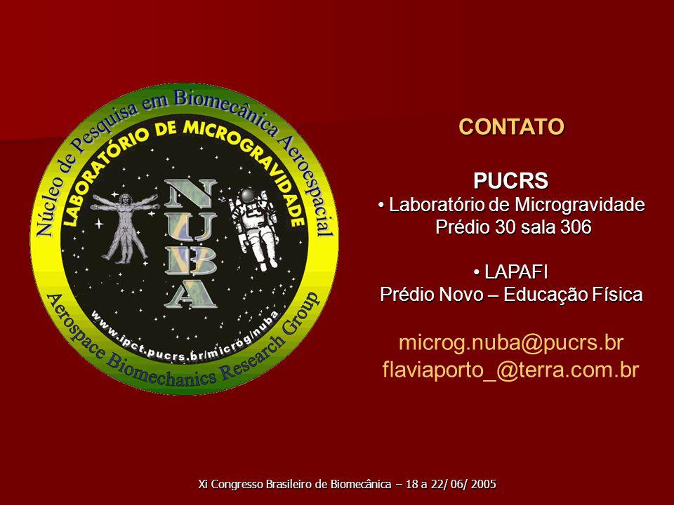 CONTATO PUCRS microg.nuba@pucrs.br flaviaporto_@terra.com.br