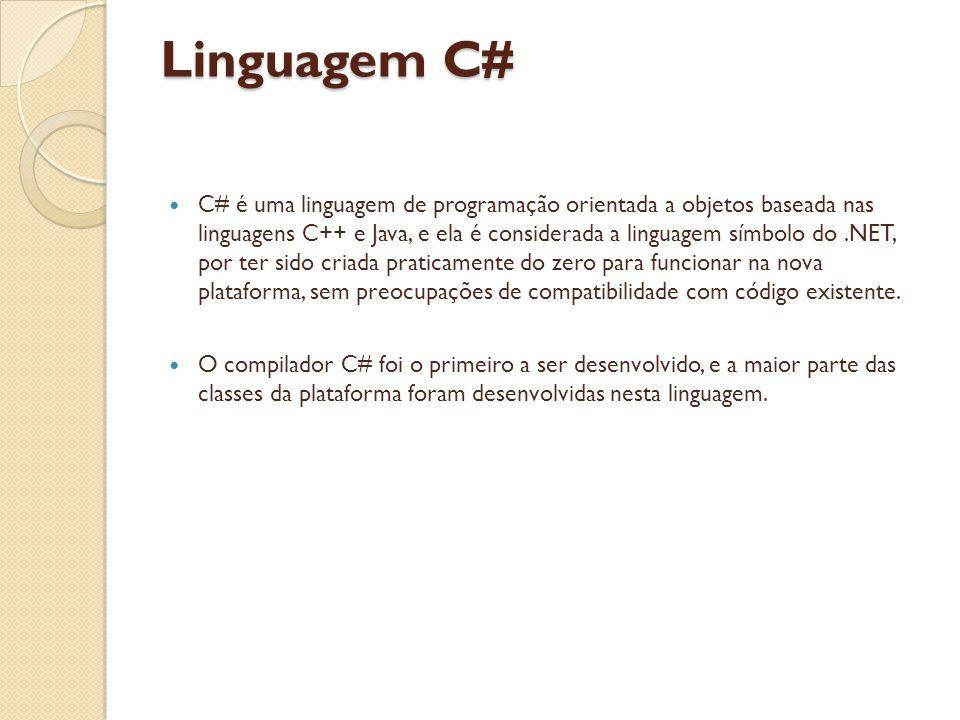 Linguagem C#