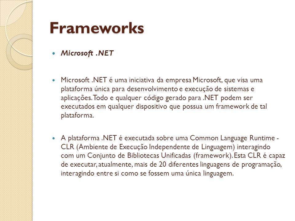 Frameworks Microsoft .NET