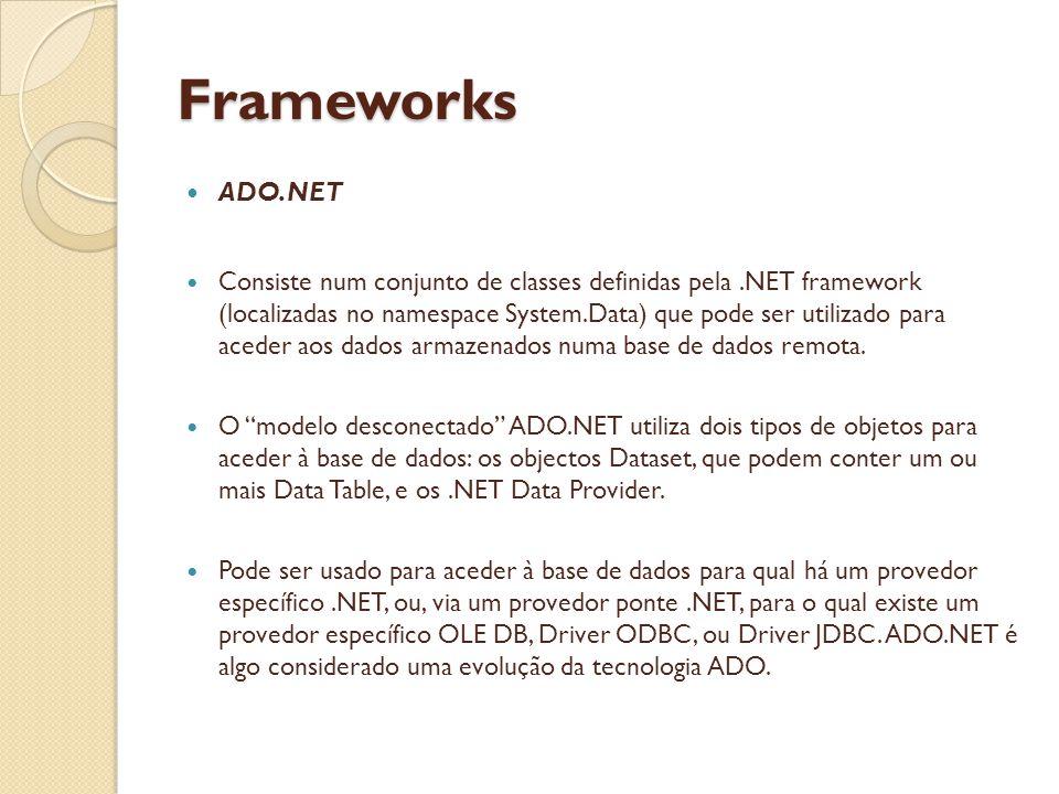 Frameworks ADO.NET.