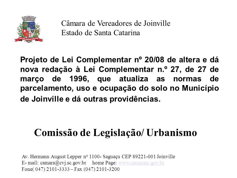 Comissão de Legislação/ Urbanismo
