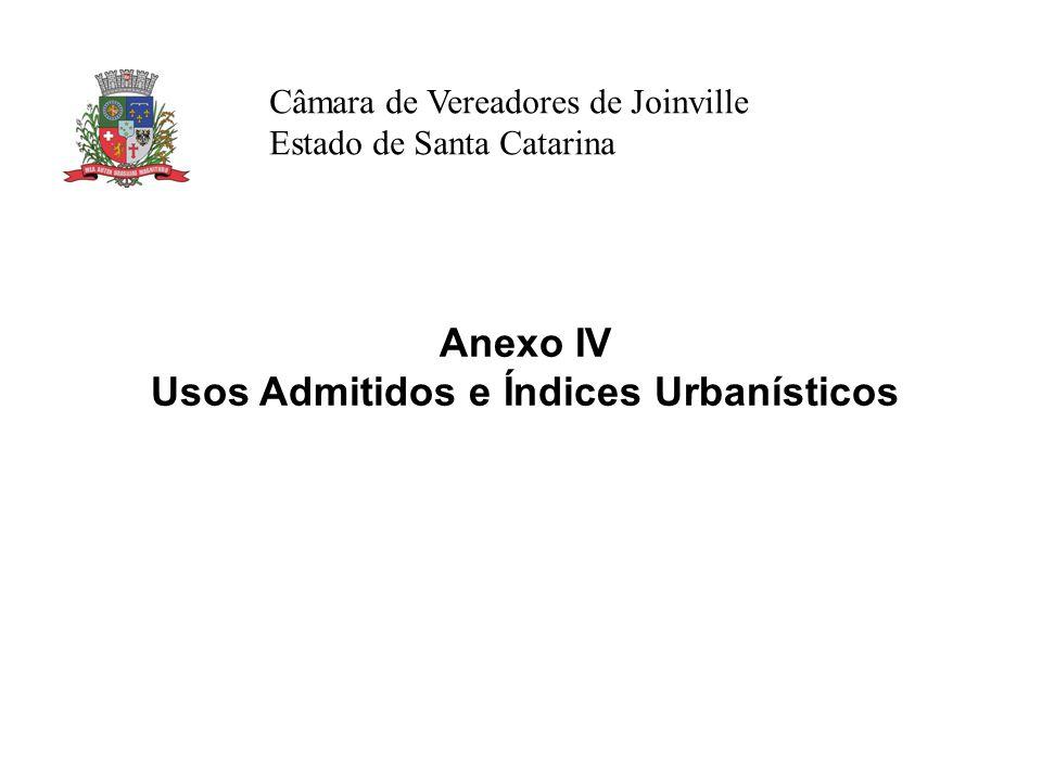 Usos Admitidos e Índices Urbanísticos