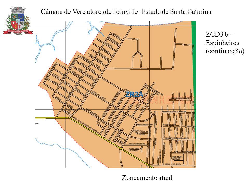 Câmara de Vereadores de Joinville -Estado de Santa Catarina