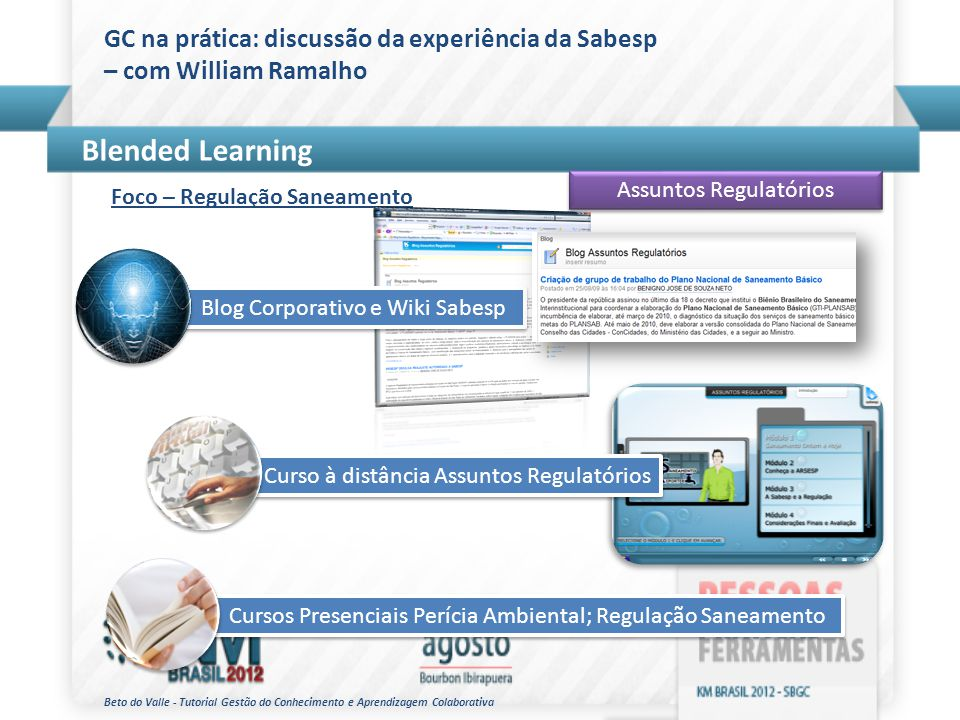 GC na prática: discussão da experiência da Sabesp – com William Ramalho