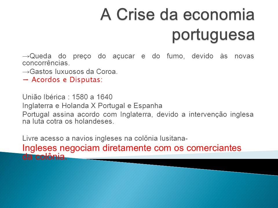 A Crise da economia portuguesa