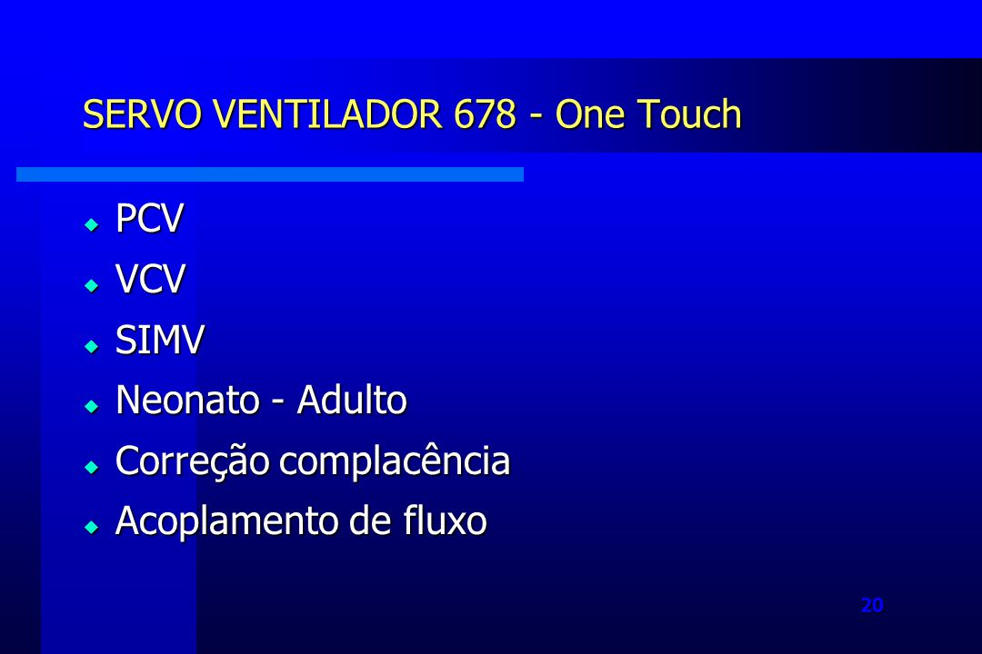 SERVO VENTILADOR 678 - One Touch