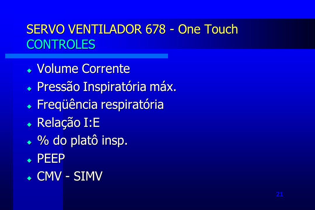 SERVO VENTILADOR 678 - One Touch CONTROLES