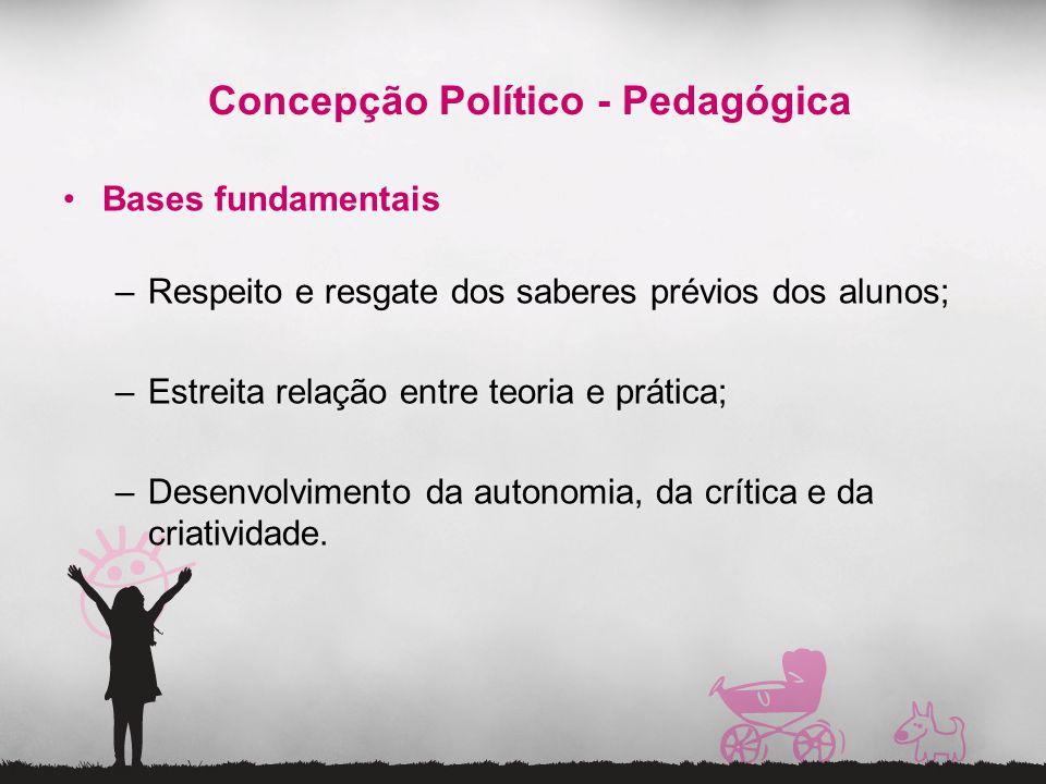 Concepção Político - Pedagógica