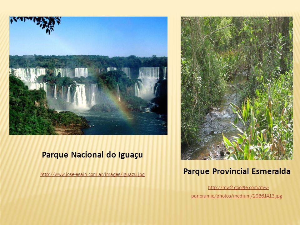 Parque Nacional do Iguaçu Parque Provincial Esmeralda