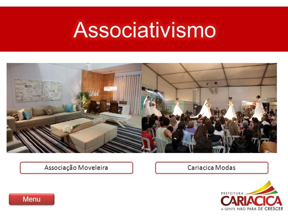 Associativismo Associação Moveleira Cariacica Modas Menu