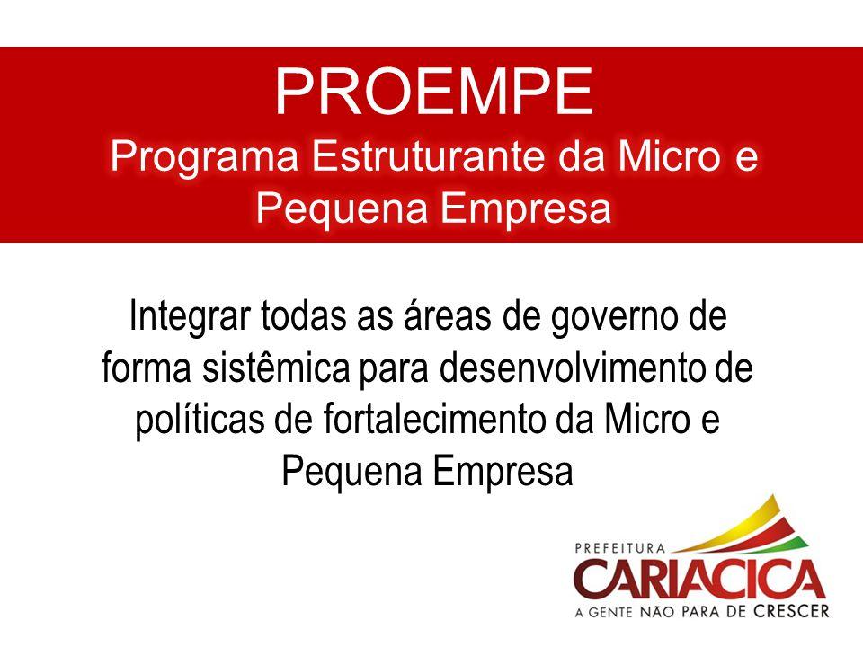 PROEMPE Programa Estruturante da Micro e Pequena Empresa