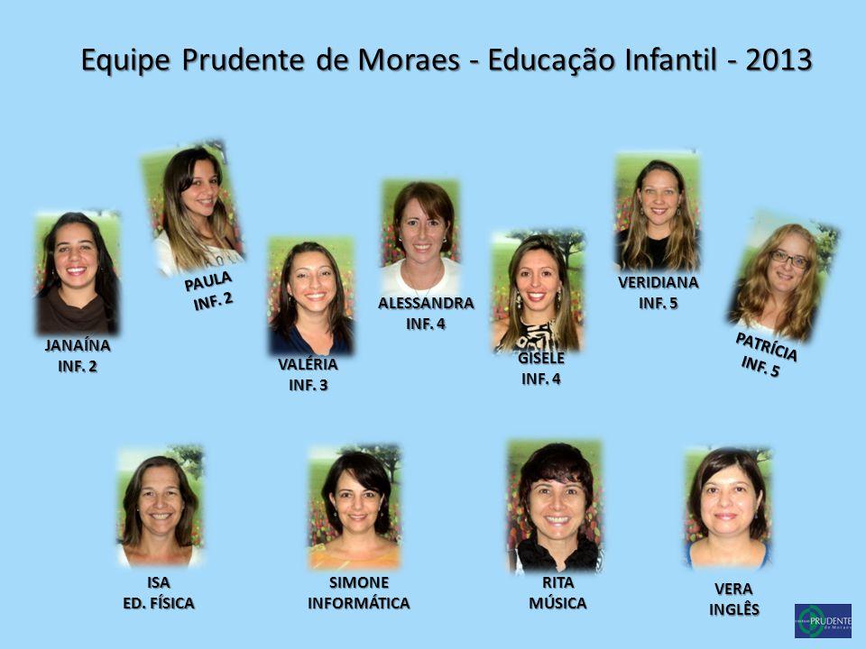 Equipe Prudente de Moraes - Educação Infantil - 2013